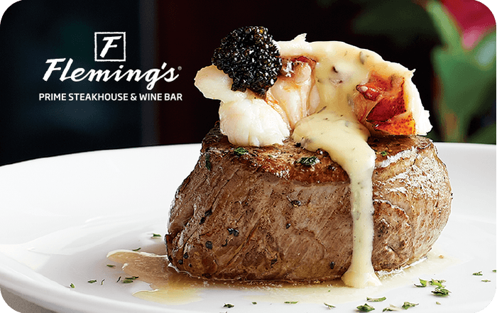 Flemings Prime Steakhouse Gift Card