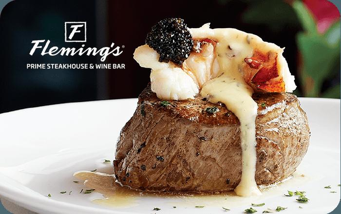 Fleming's Prime Steakhouse Gift Card