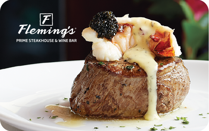 Fleming's Steakhouse Wine Bar Gift Cards