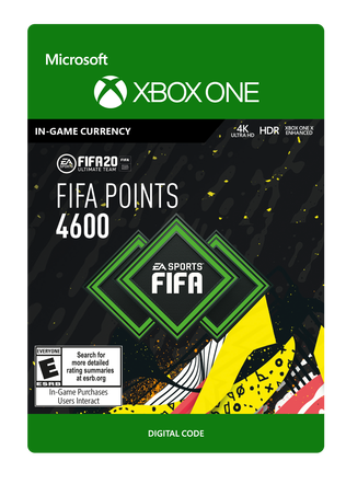 FIFA 20 ULTIMATE TEAM FIFA POINTS 4600