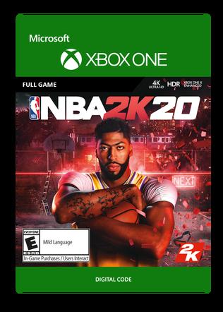 Xbox NBA 2K20 SE $59.99 eGift