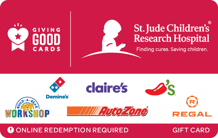 Giving Good St. Jude Children's Research Hospital Swap eGift