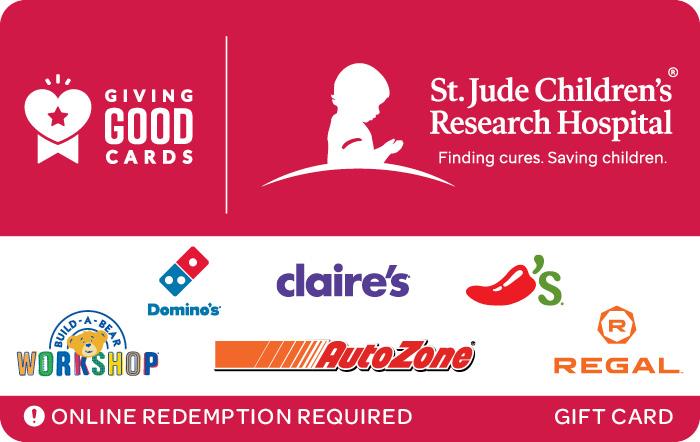 Giving Good St. Jude Children's Research Hospital eGift