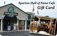 Spartan Hall of Fame Café Gift Card