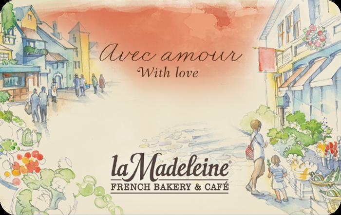 la Madeleine Gift Card