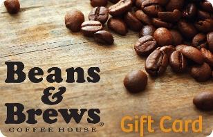 Beans & Brews Coffee House eGift Card