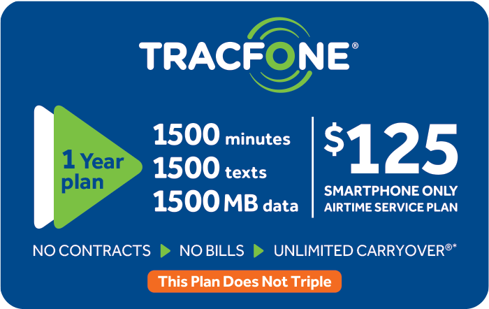 TRACFONE $15 Prepaid Phone Card (e-delivery)