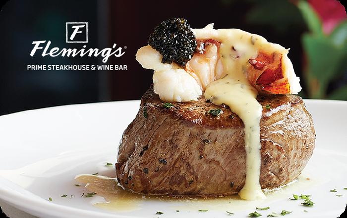 Fleming's Steakhouse Wine Bar eGift Cards