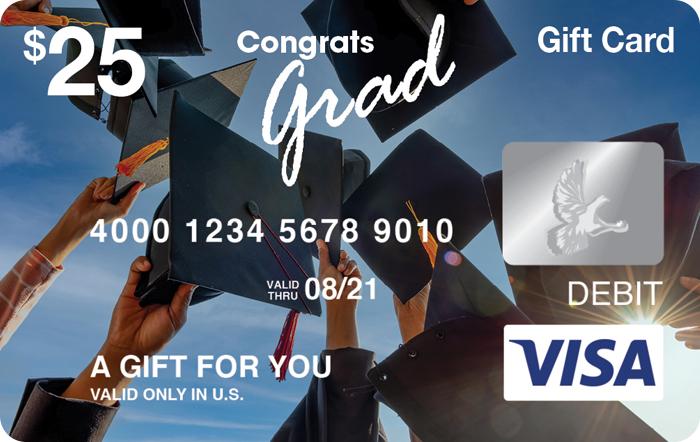 Congrats Grad Visa® Gift Card