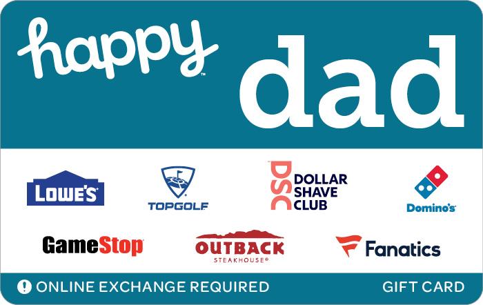 Happy Dad eGift Card