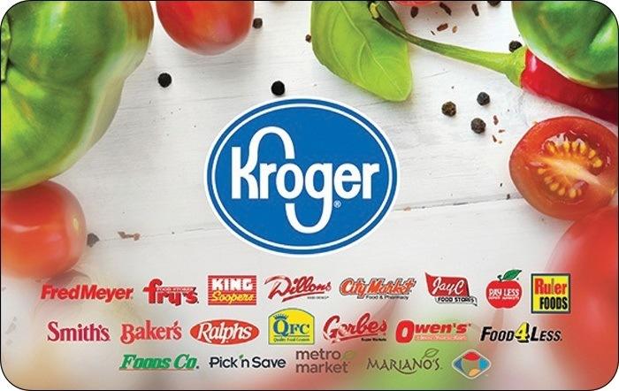 Kroger Gift Cards