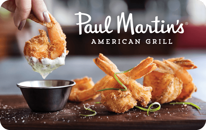 Paul Martin's American Grill® Gift Card