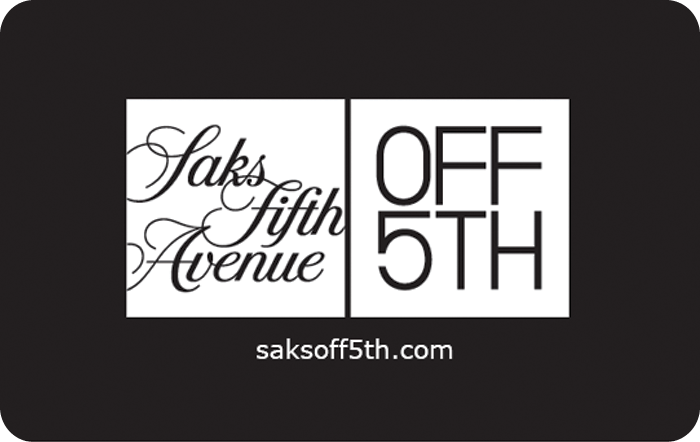 Saks Fifth Avenue OFF 5th eGift