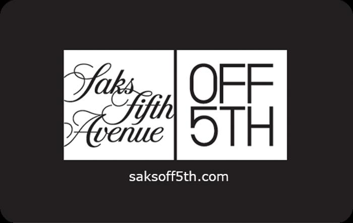 Saks Fifth Avenue OFF 5th eGift