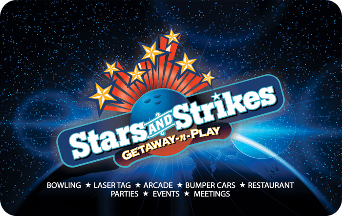 Stars And Strikes Gift Card