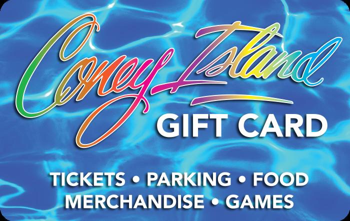 Coney Island $50 Gift Card