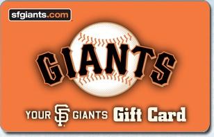 SF Giants eGift Card