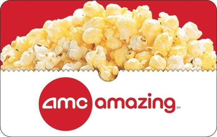 AMC Popcorn Egift Card