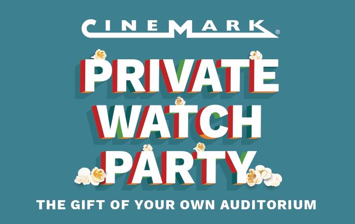 Cinemark Private Watch Party eGift Card
