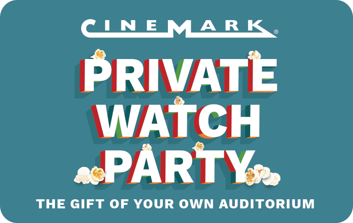 Cinemark Private Watch Party eGift