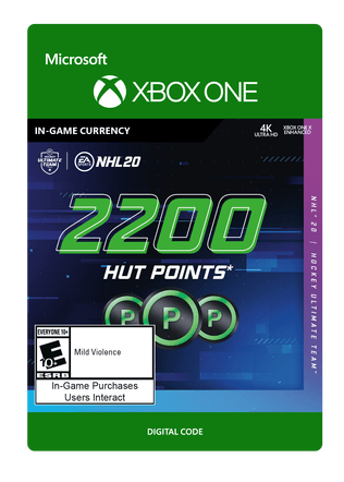 NHL 20 2200 POINTS