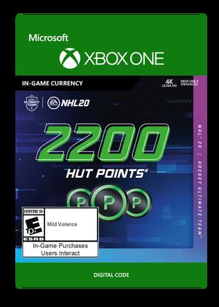 NHL 20 2200 POINTS