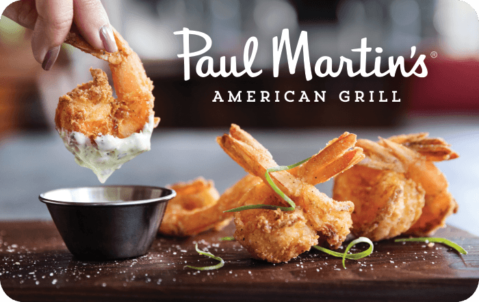 Paul Martin's American Grill eGift