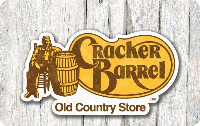 picture regarding Cracker Barrel Printable Menu named Cracker Barrel eGift Card
