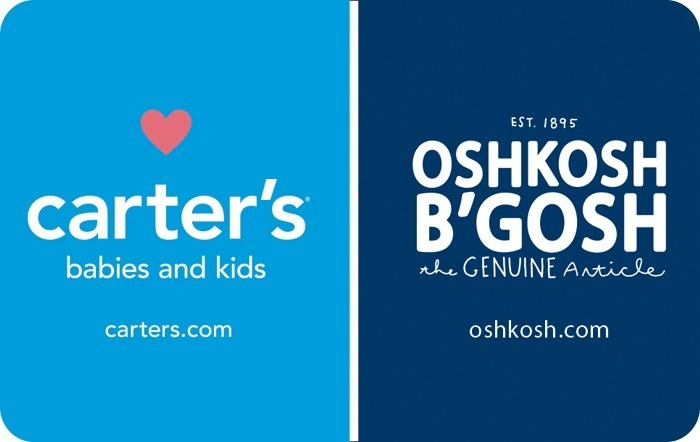 bd97ad284 Carters   Oshkosh Bgosh eGift Card