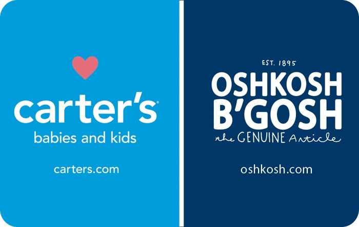Carters Oshkosh Bgosh eGift Cards