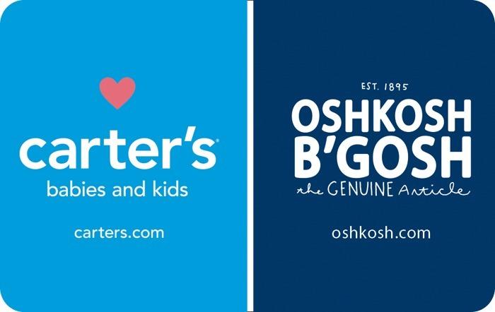 Carter's / OshKosh B'gosh eGift