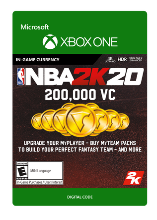 Xbox NBA 2K20 200000VC eGift