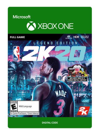 Xbox NBA 2K20 Legend Ed eGift