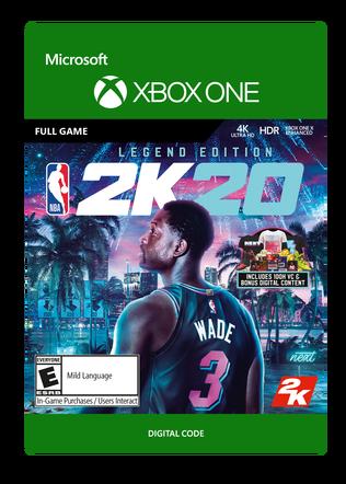 Xbox NBA 2K20 Legend Ed $99.99 eGift