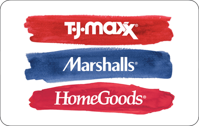 Promotion of TJ Maxx Red $50 Gift Card