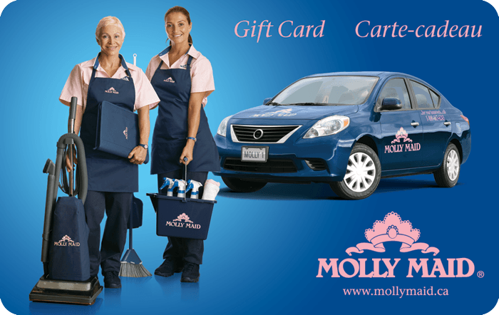 Molly Maid eGift Card for Canada