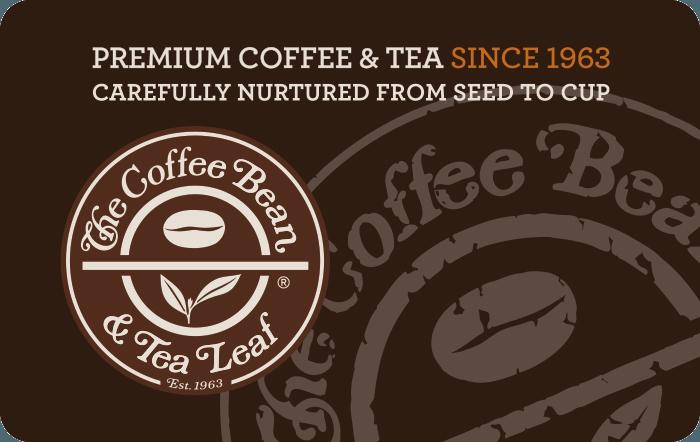 The Coffee Bean & Tea Leaf Gift Card