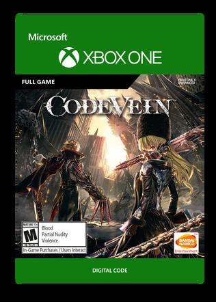 XBOX C2C CODE VEIN STANDARD EDITION $59.99