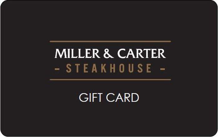 Miller & Carter eGift