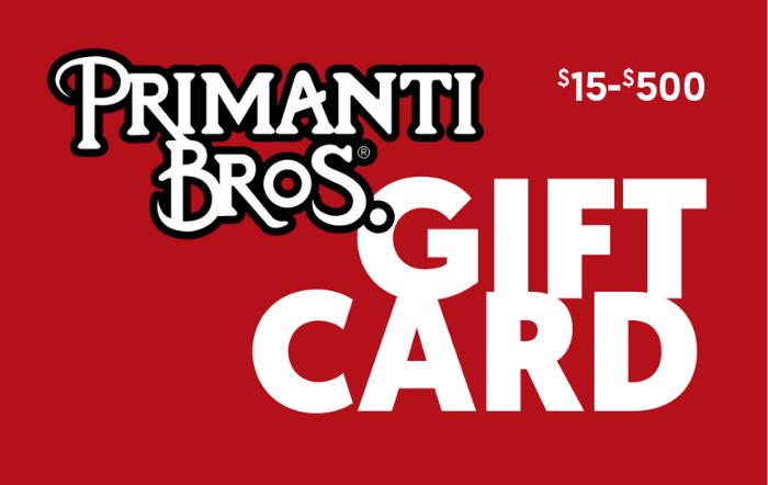 Primanti Bros. Restaurant & Bar eGift