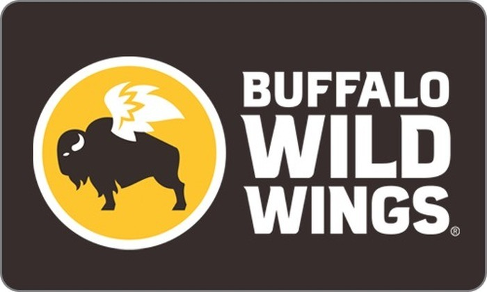 image regarding Buffalo Wild Wings Printable Menu titled Buffalo Wild Wings eGift Card