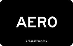 Aeropostale Black Gift Card