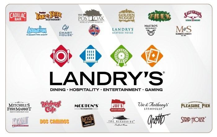 Landrys Multibranded eGift Cards
