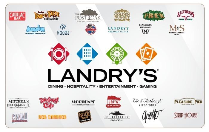 Landry's Multibranded eGift