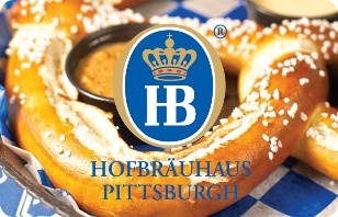 Hofbrauhaus Pittsburgh eGift Card