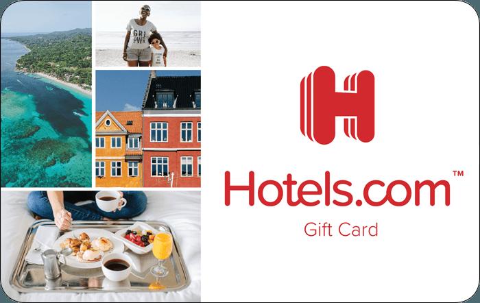 Promotion of Hotels.com eGift Cards