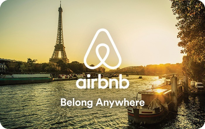 Airbnb eGift Cards