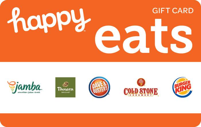 Happy Eats Gift Card