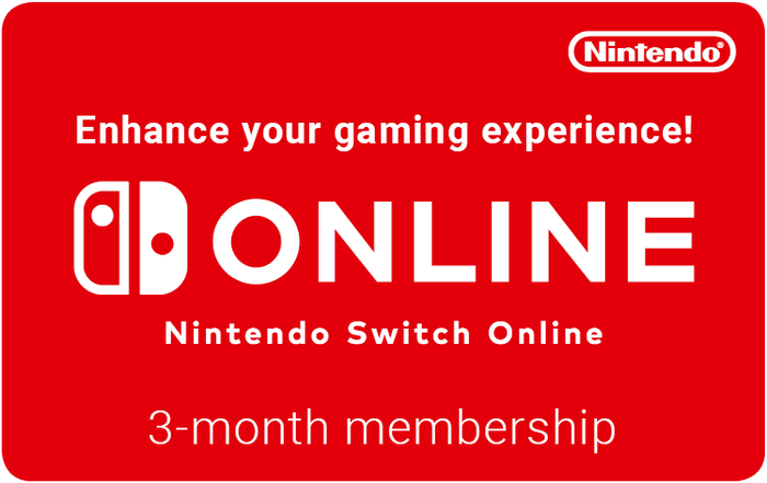 Nintendo Switch 12M 17.99GBP eGift