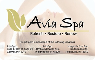 Avia Spa eGift Card